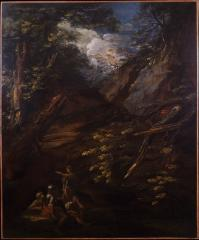 Image for Landscape with Soldiers in a Ravine