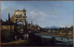 Image for Capriccio with a Roman Arch