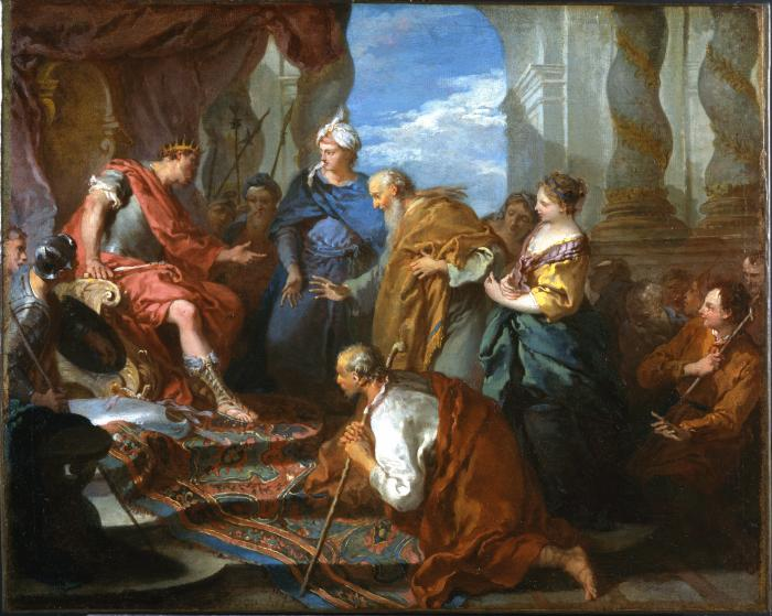 Image for Joseph Presenting His Father and His Brothers to the Pharaoh