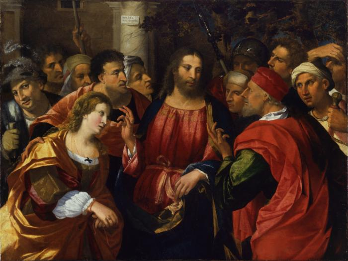 Image for Christ and the Adulteress