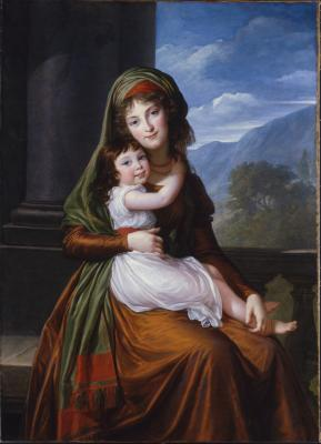 Image for The Countess von Schönfeld with Her Daughter