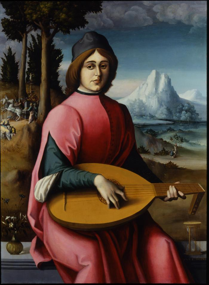 Image for Portrait of a Young Lute Player