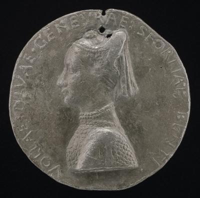 Image for Ginevra Sforza, 1442-1507, Wife of GIovanni II Bentivoglio 1464