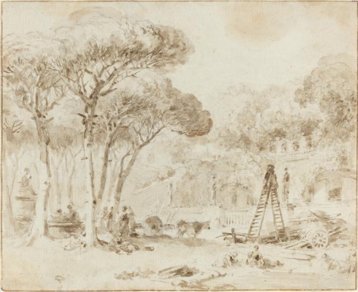 Image for Gardens of an Italian Villa (Villa Medici?)
