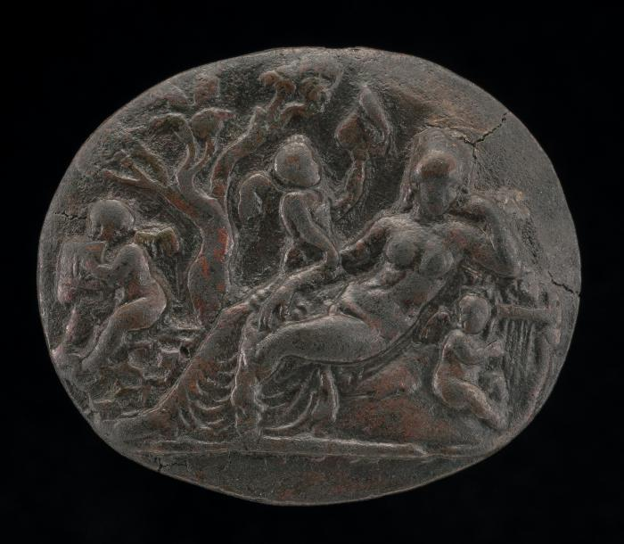 Image for Hermaphrodite and Three Cupids