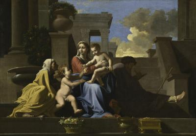 Image for The Holy Family on the Steps