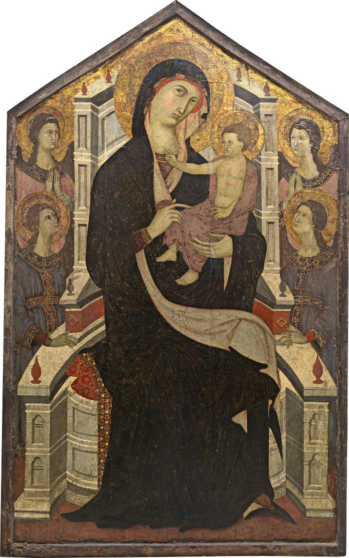 Image for Maestà (Madonna and Child with Four Angels)
