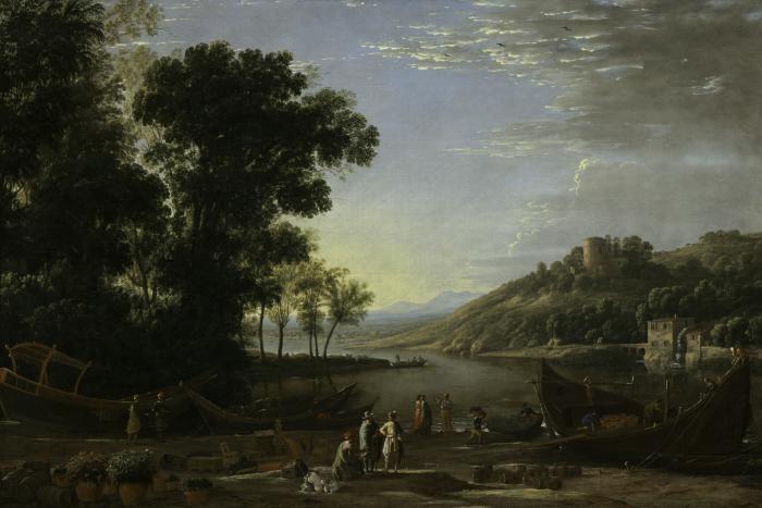Image for Landscape with Merchants