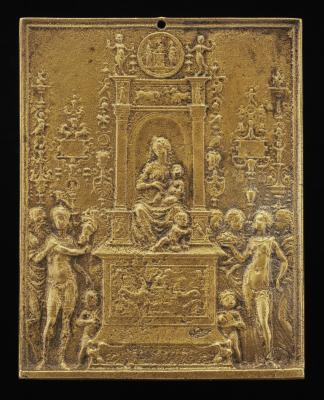 Image for Madonna and Child Enthroned with Saints
