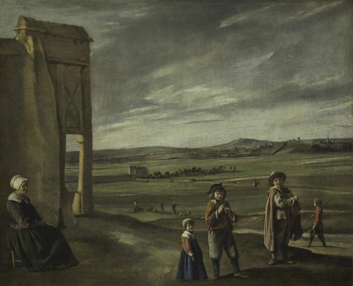 Image for Landscape with Peasants