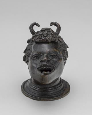 Image for Lamp in the Form of a Satyr's Head