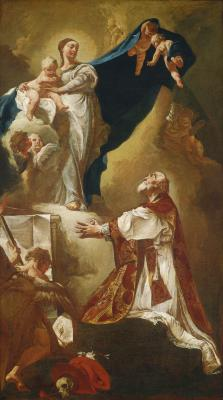 Image for Madonna and Child Appearing to Saint Philip Neri