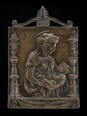 Image for Madonna and Child between Two Candelabra
