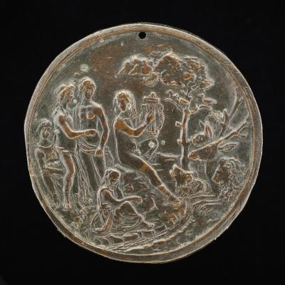 Image for Orpheus Playing to the Animals