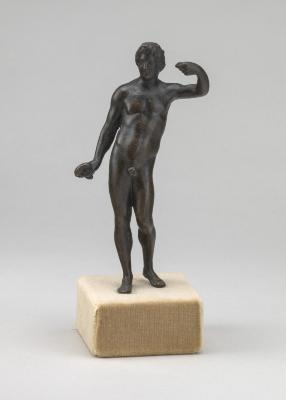 Image for Male Nude with Raised Left Arm