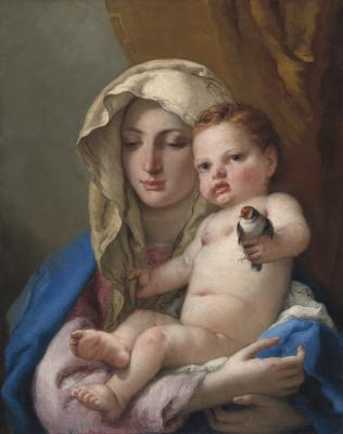 Image for Madonna of the Goldfinch
