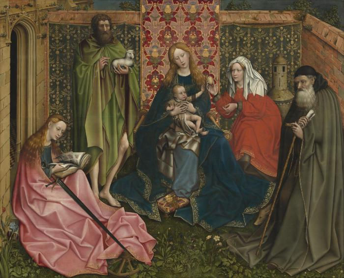 Image for Madonna and Child with Saints in the Enclosed Garden