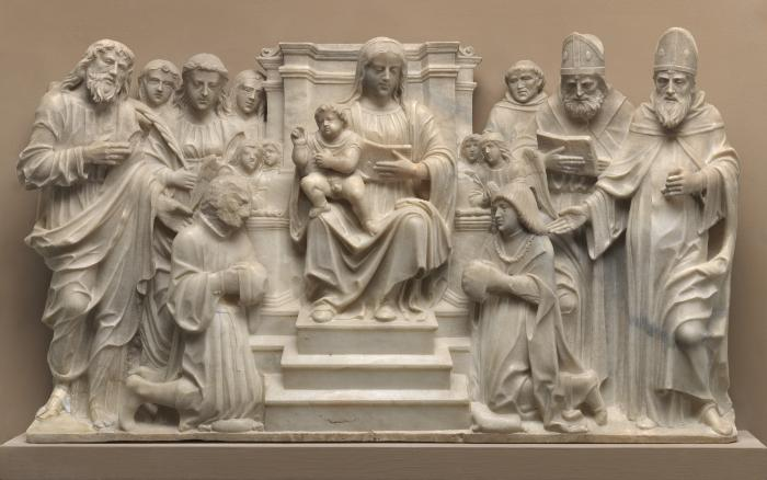 Image for Madonna and Child with Saints and Donors