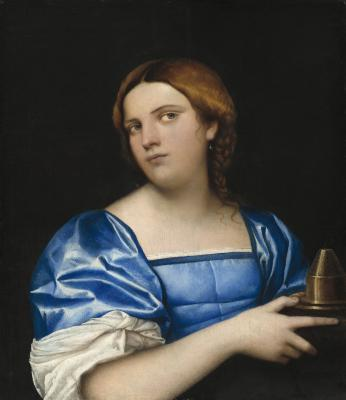 Image for Portrait of a Young Woman as a Wise Virgin
