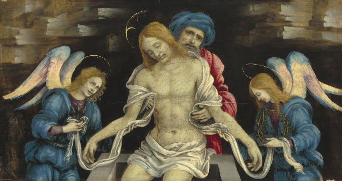 Image for Pietà (The Dead Christ Mourned by Nicodemus and Two Angels)