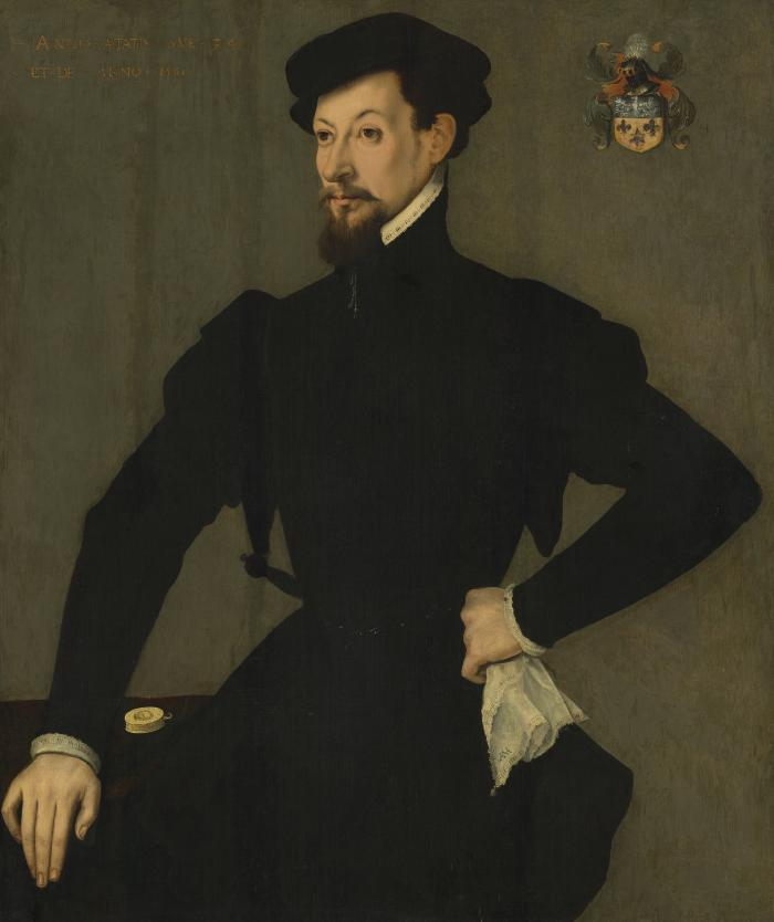 Image for Portrait of a Member of the Quaratesi Family