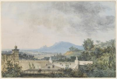 Image for Panoramic View across a Terraced Park