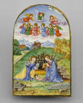 Image for Pax with a Miniature of the Nativity