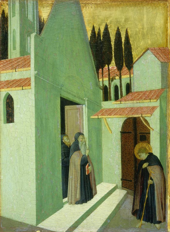 Image for Saint Anthony Leaving His Monastery