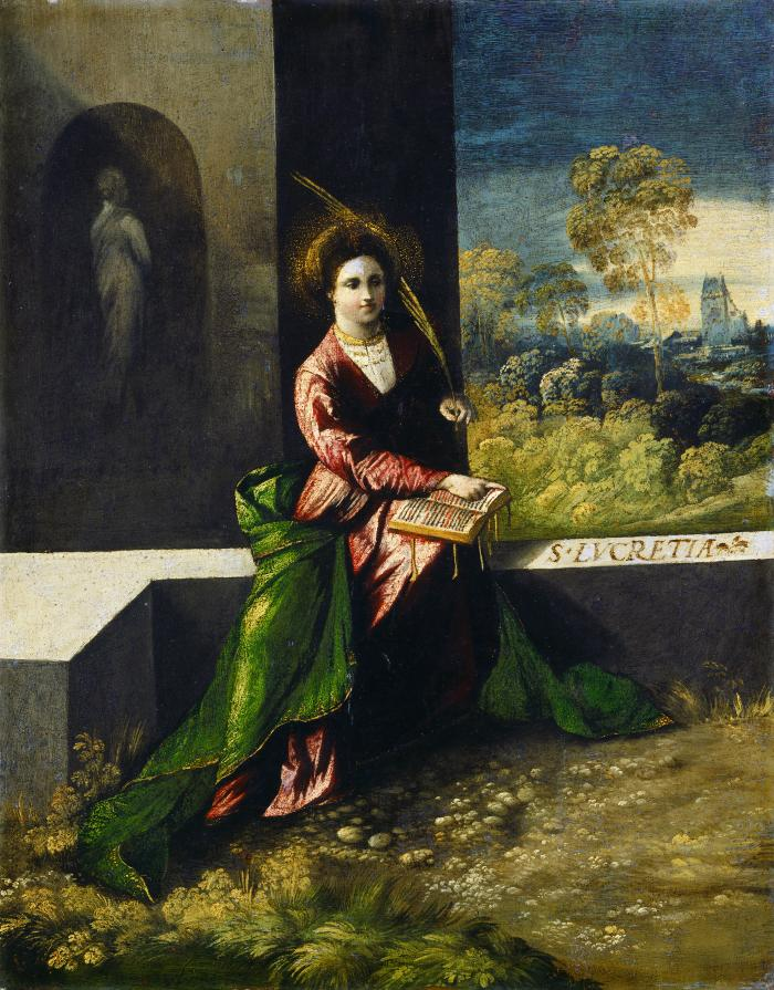 Image for Saint Lucretia