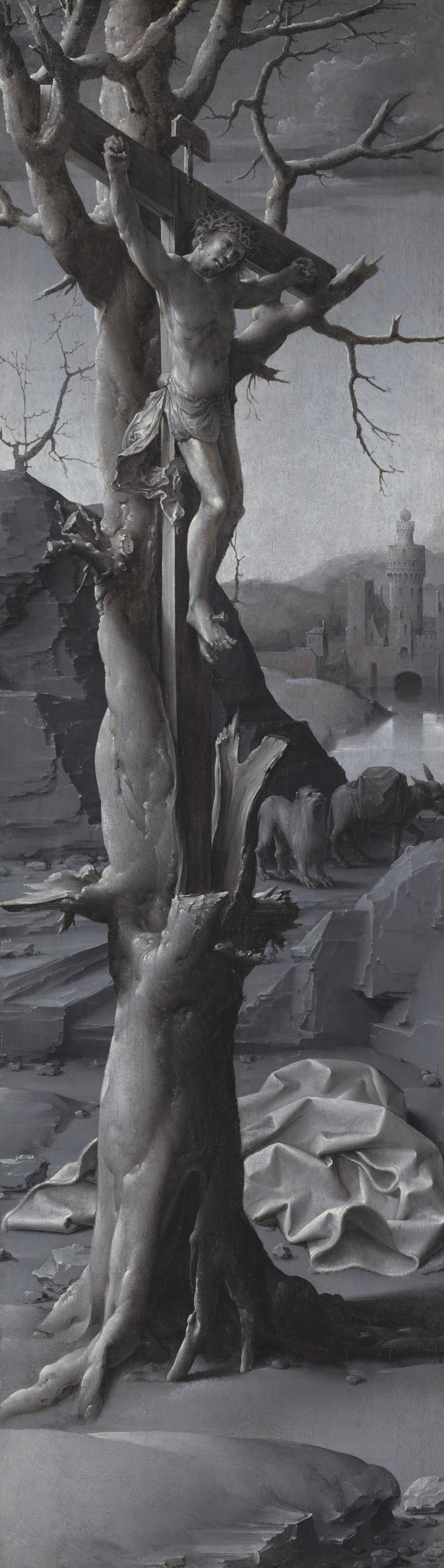 Image for Saint Jerome Penitent [left panel]