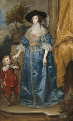 Image for Queen Henrietta Maria with Sir Jeffrey Hudson