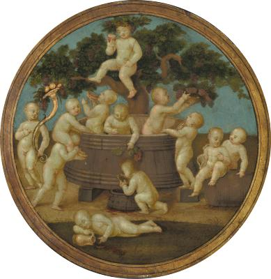 Image for Putti with a Wine Press