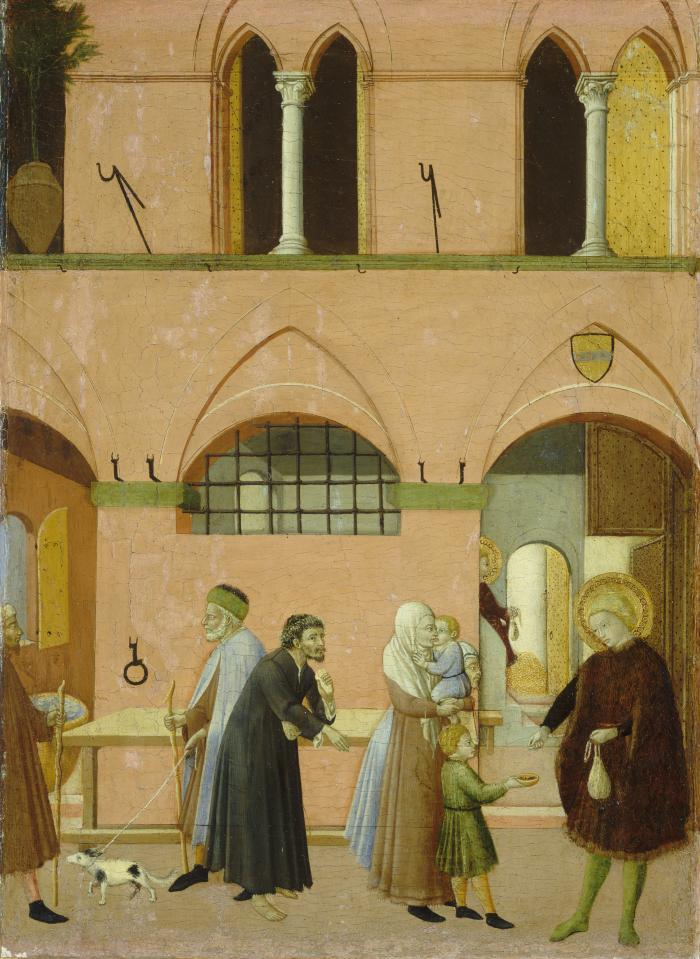 Image for Saint Anthony Distributing His Wealth to the Poor