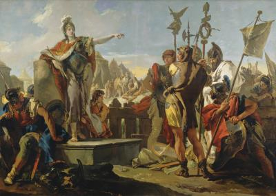 Image for Queen Zenobia Addressing Her Soldiers
