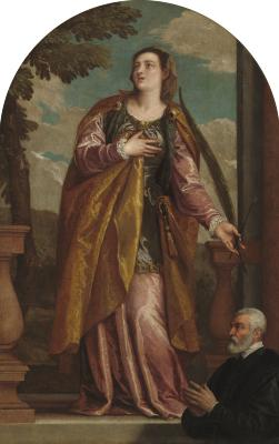 Image for Saint Lucy and a Donor