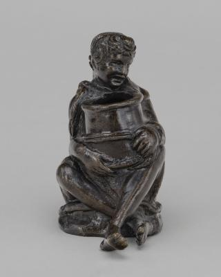 Image for Seated Boy Holding a Jar (an Inkwell ?)