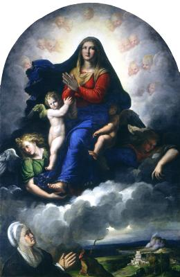Image for The Apparition of the Virgin