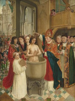 Image for The Baptism of Clovis