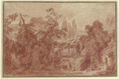 Image for Terrace and Garden of an Italian Villa