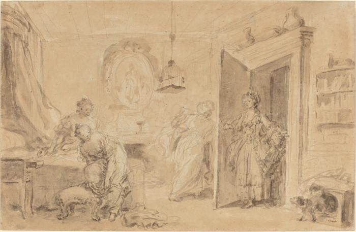 Image for The Bedroom (Le Coucher or Ma Chemise brule)