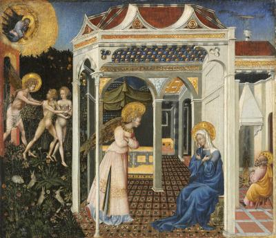Image for The Annunciation and Expulsion from Paradise
