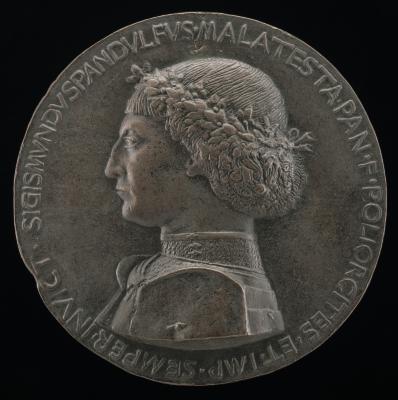 Image for Sigismondo Pandolfo Malatesta, 1417-1468, Lord of Rimini and Fano [obverse]